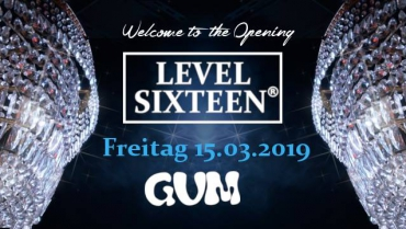 16+ Welcome to LEVEL SIXTEEN