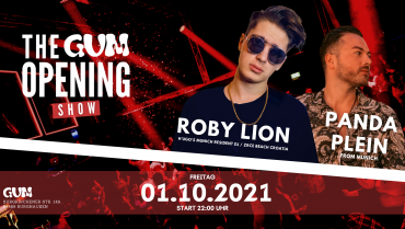 THE GUM OPENING SHOW / ROBY LION & PANDA PLEIN